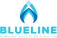 Blueline Plumbing, Gasfitting & Heating Logo